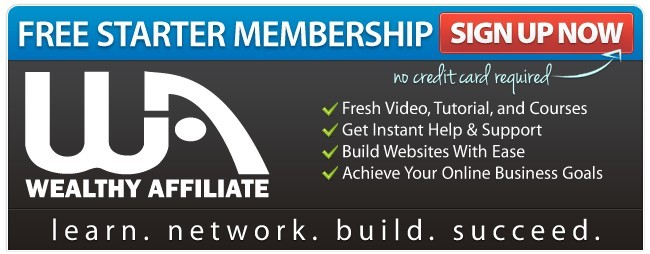 Wealthy affiliate helps your online business to start and grow!