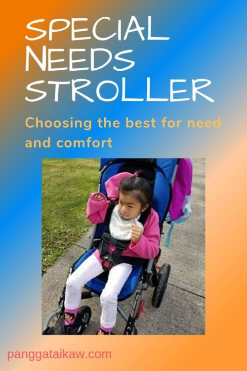 Special needs stroller: choose for need and comfort