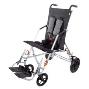 adaptive stroller with transit tie-downs