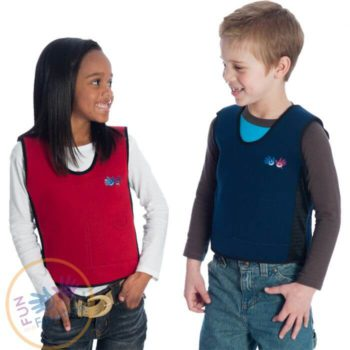 Sensory vests for calming effect