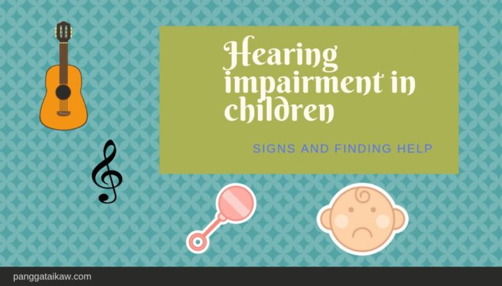 Hearing impairment in children