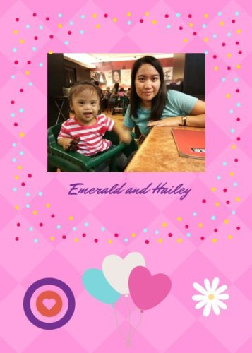 Caring for a Down syndrome child briings joy and fulfillment