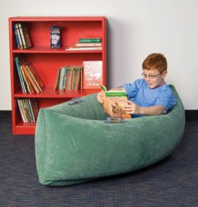 Reading in a squeezy canoe for sensory needs, The Benefits of Reading Everyday