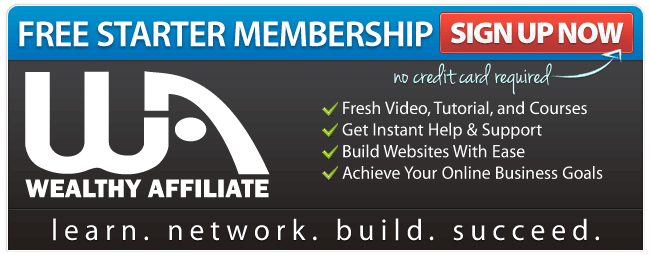 Enrol at Wealthy Affiliate