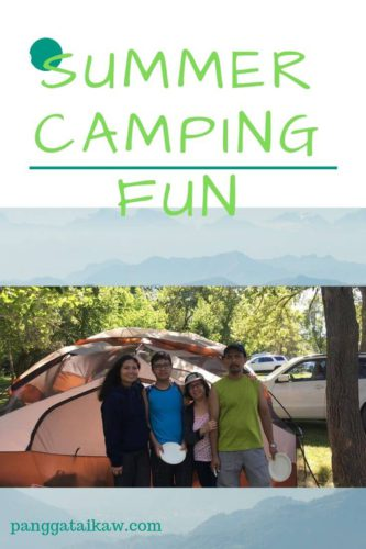 Prepare for camping with a special child