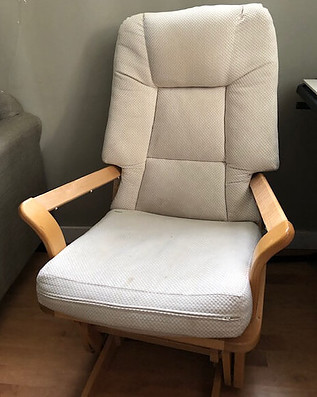 Rocking chair to calm your sick special child
