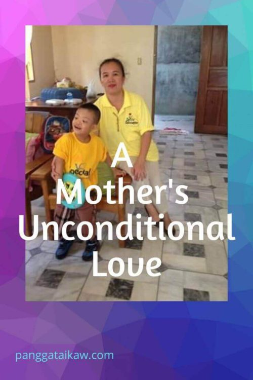 A mother's unconditional love
