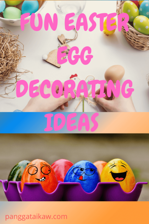 Seven Fun Easter Egg Decorating Ideas