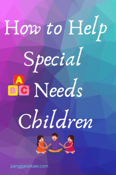 How to help special needs children