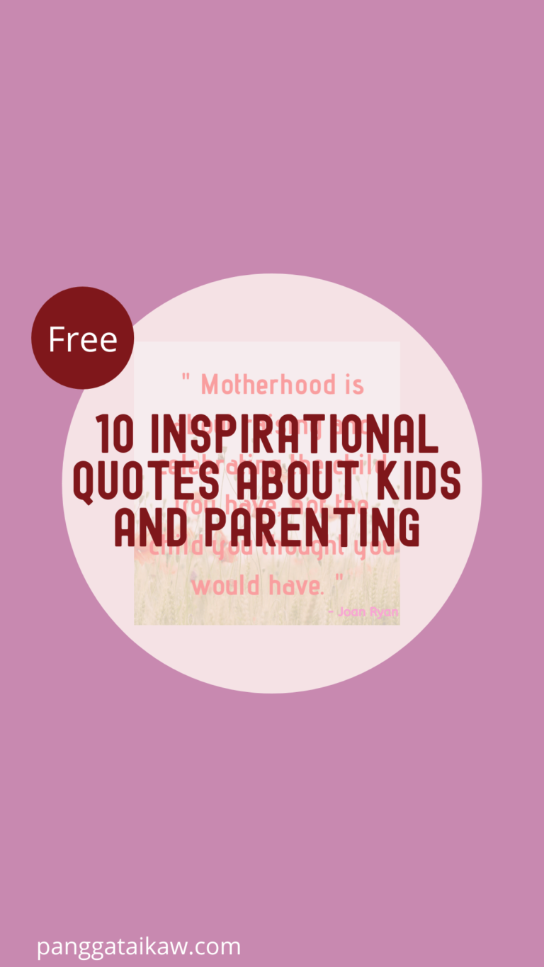 Free resources-Inspirational quotes about kids and parenting