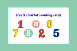 Freebie-counting cards