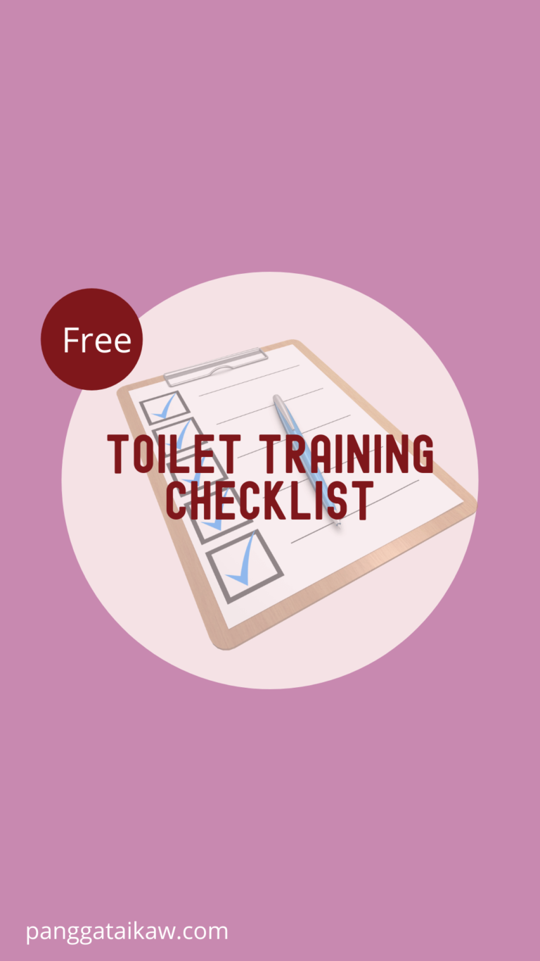 Free Resources, Toilet training checklist