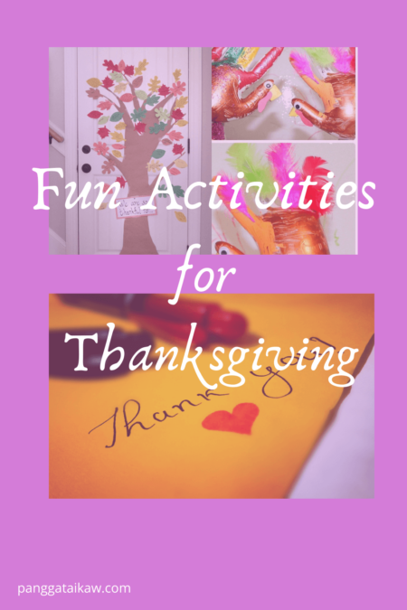 Fun Activities for Thanksgiving