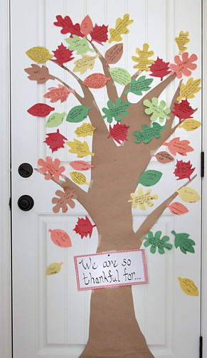 Fun Activities for Thanksgiving, Thankful tree